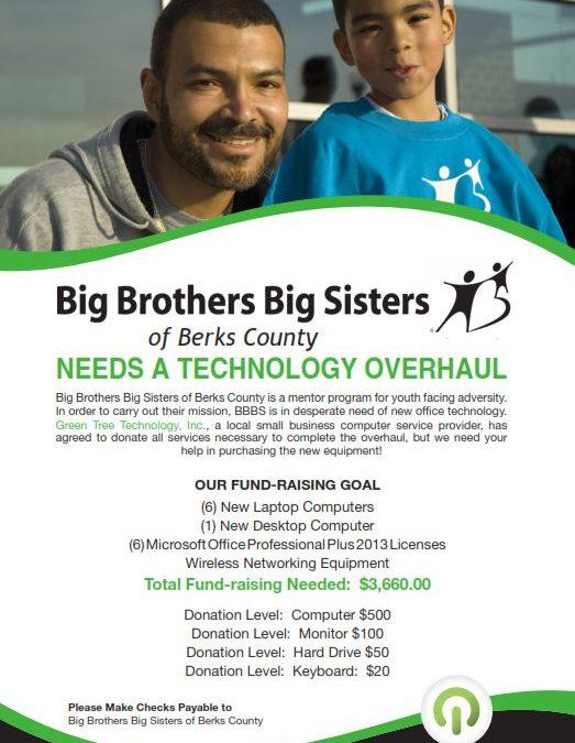 Help Big Brothers Big Sisters of Berks County